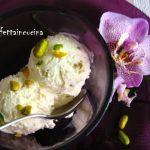 Gelato al cioccolato bianco e pistacchi