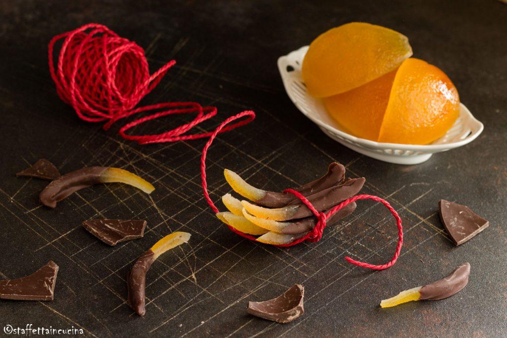 cioccolatini all'arancia candita