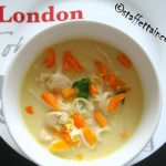 Zuppa di noodle con tacchino e peperoni