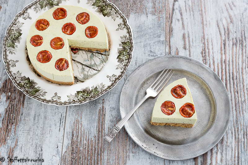 cheesecake ai pomodori confit