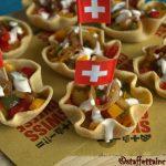 Tartellette Swiss-Mex vegetariane
