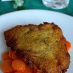 Platessa ripiena e carote glassate