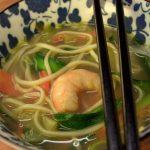 We go Japan: Zuppa di noodles, gamberi e verdure