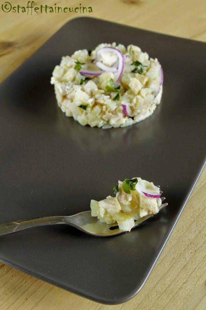 Insalata di salmerino affumicato e patate