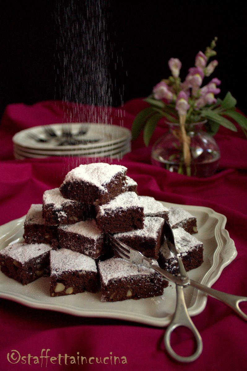 brownies ai frutti di bosco