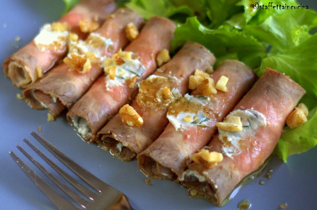 involtini di roastbeef