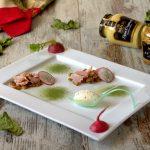 Gelato alla senape e prosciutto cotto