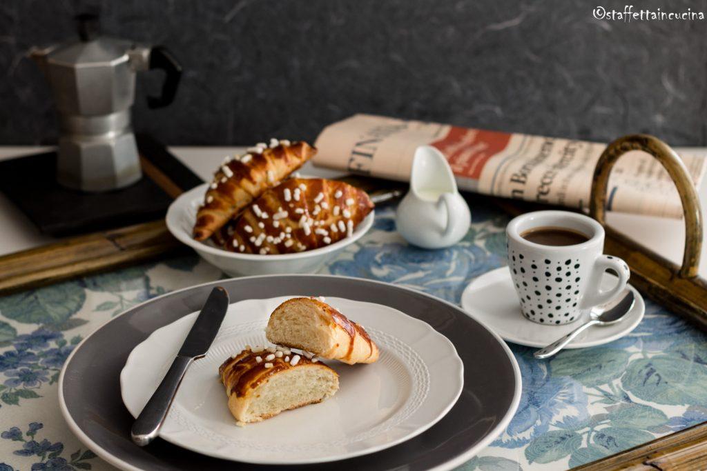 croissant con sfoglia veloce