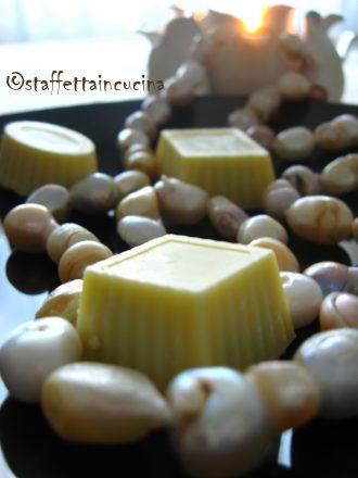cioccolatini al pistacchio