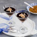 Budino al cioccolato e dulce de leche