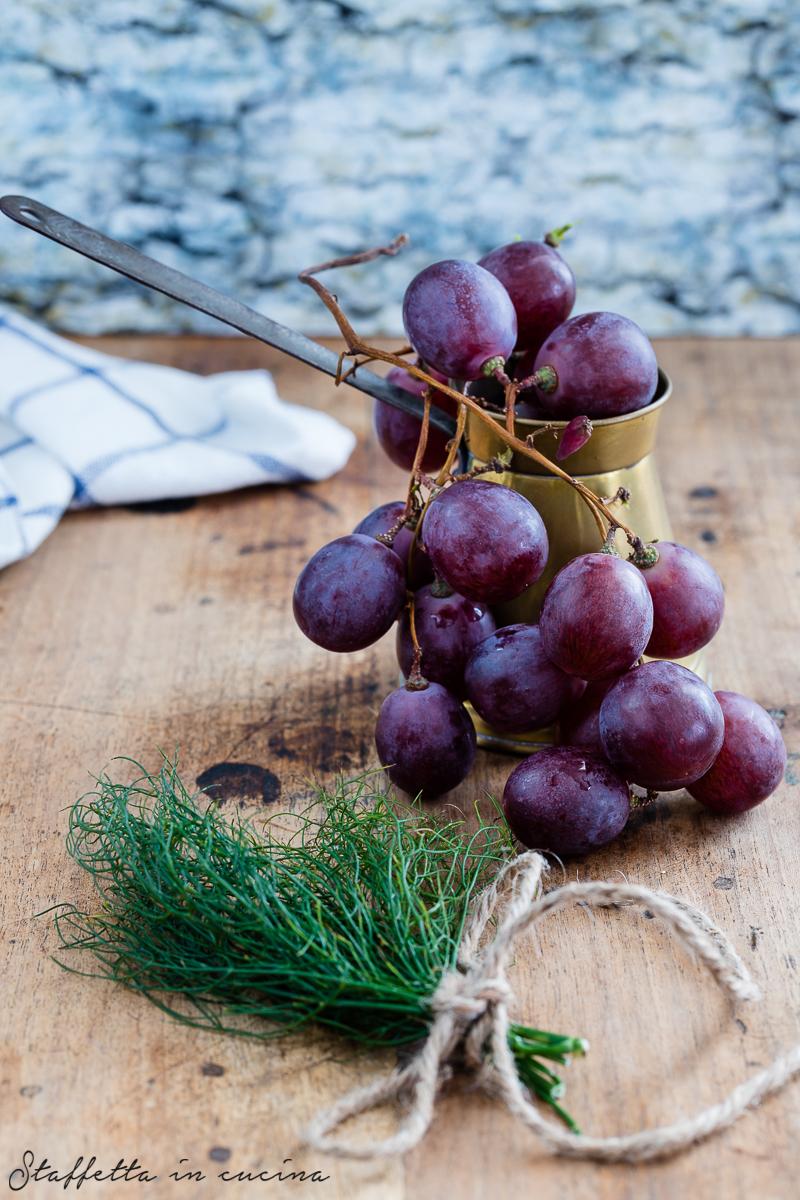 focaccia all'uva