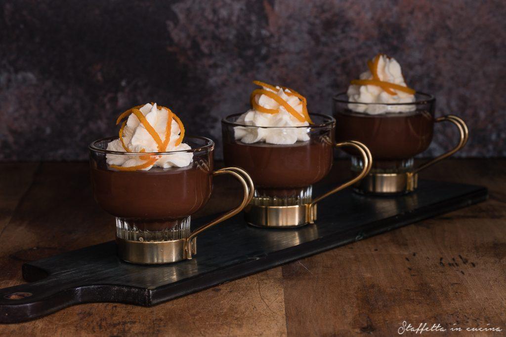 budino al cioccolato fondente