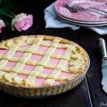 Crostata di ricotta all'alchermes