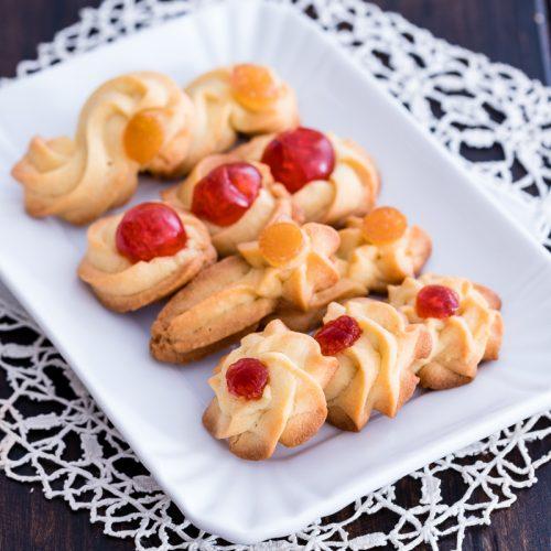 biscotti di frolla montata