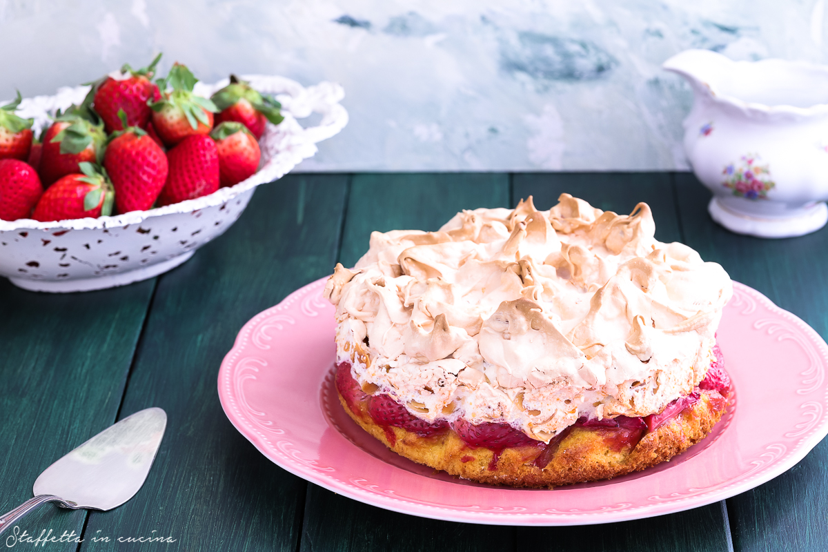 Louise cake alle fragole