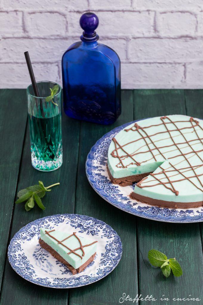 cheesecake ciocco-menta