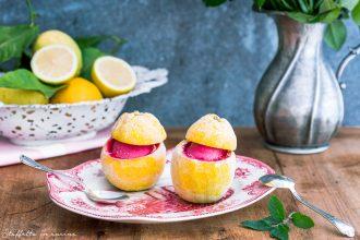 sorbetto di limone ed ibisco