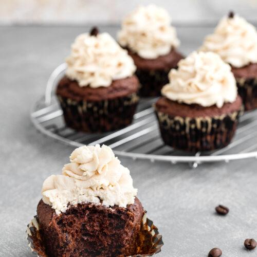 cupcakes cioccolato e caffè
