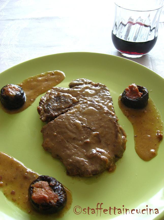filetto con prugne e patè